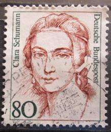 Poštovní známka Nìmecko 1986 Clara Schumann, klavíristka Mi# 1305