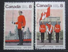 Poštovní známky Kanada 1976 Královská vojenská škola, 100. výroèí Mi# 628-29