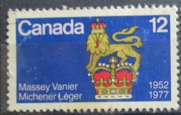 Poštovní známka Kanada 1977 Znak guvernerù Mi# 660