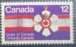 Poštovní známka Kanada 1977 Kanadský øád Mi# 661