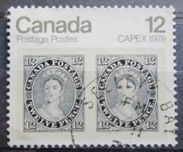 Poštovní známka Kanada 1978 Výstava CAPEX Mi# 681