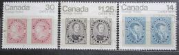 Poštovní známky Kanada 1978 Výstava CAPEX Mi# 691-93