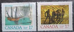 Poštovní známky Kanada 1979 Umìní Mi# 727-28