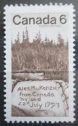 Poštovní známka Poštovní známka Kanada 1970 Alexander MacKenzie Mi# 459