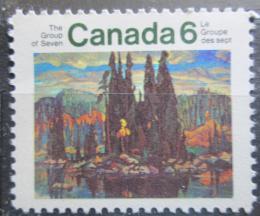 Poštovní známka Kanada 1970 Umìní, Arthur Lismer Mi# 461