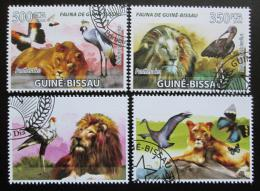 Poštovní známky Guinea-Bissau 2008 Lvi Mi# 3784-87
