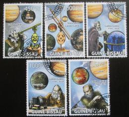 Poštovní známky Guinea-Bissau 2009 Astronomie Mi# 4091-95 - zvětšit obrázek