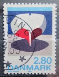 Poštovní známka Dánsko 1985 Moderní umìní, Helge Refn Mi# 851