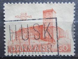 Poštovní známka Dánsko 1968 Hrad Koldinghus Mi# 468