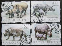 Poštovní známky Togo 2013 Nosorožci Mi# 5331-34 Kat 12€