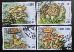 Poštovní známky Sierra Leone 2015 Houby Mi# 6312-15 Kat 10€