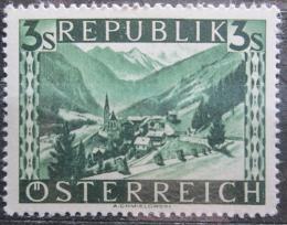 Poštovní známka Rakousko 1946 Heilligenblut Mi# 769 II Kat 4€