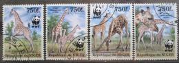 Poštovní známky Niger 2013 Žirafy, WWF Mi# 2142-45 Kat 12€