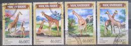 Poštovní známky Mosambik 2014 Žirafy Mi# 7320-23 Kat 11€