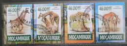 Poštovní známky Mosambik 2015 Žirafy Mi# 7959-62 Kat 10€