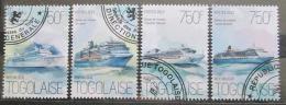 Poštovní známky Togo 2013 Výletní lodì Mi# 5436-39 Kat 12€