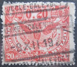 Poštovní známka Belgie 1920 Železnièní Mi# 81