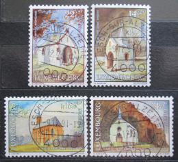 Poštovní známky Lucembursko 1991 Kaple Mi# 1284-87 Kat 8.50€