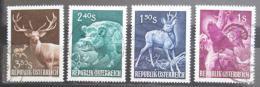 Poštovní známky Rakousko 1959 Lesní zvìø Mi# 1062-65