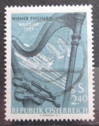 Poštovní známka Rakousko 1959 Vídeòská filharmonie Mi# 1071