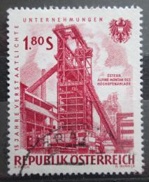 Poštovní známka Poštovní známka Rakousko 1961 Znárodnìný prùmysl Mi# 1094