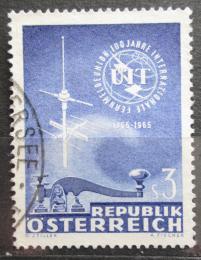 Poštovní známka Rakousko 1965 ITU, 100. výroèí Mi# 1181