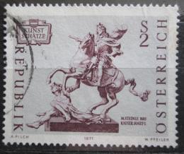 Poštovní známka Rakousko 1971 Umìní, Matthias Steinle Mi# 1356
