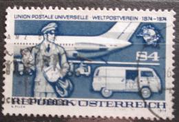 Poštovní známka Rakousko 1974 UPU, 100. výroèí Mi# 1467