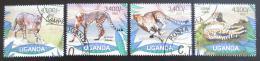 Poštovní známky Uganda 2012 Gepard Mi# 2805-08 Kat 13€