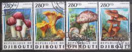 Poštovní známky Džibutsko 2016 Houby Mi# 1024-27