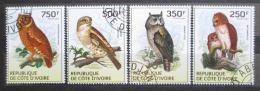 Poštovní známky Pobøeží Slonoviny 2014 Sovy Mi# 1549-52