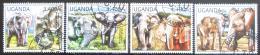 Poštovní známky Uganda 2012 Slon africký Mi# 2810-13 Kat 13€