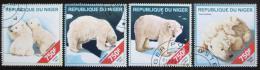Poštovní známky Niger 2014 Lední medvìdi Mi# 2835-38 Kat 12€