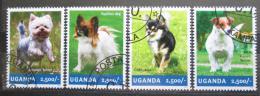 Poštovní známky Uganda 2014 Malí psi Mi# 3310-13 Kat 12€
