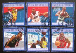 Poštovní známky Komory 2010 Basketbalisti Mi# 2865-70 Kat 10.20€