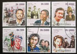 Poštovní známky Svatý Tomáš 2010 Èínští herci Mi# 4294-99 Kat 10€