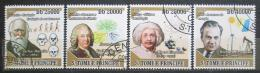Poštovní známky Svatý Tomáš 2009 Slavní vìdci I Mi# 4035-38