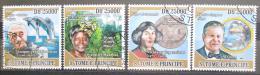 Poštovní známky Svatý Tomáš 2009 Slavní vìdci II Mi# 4039-42