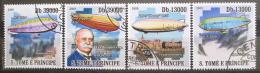 Poštovní známky Svatý Tomáš 2009 Vzducholodì Mi# 4063-66