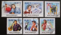 Poštovní známky Mosambik 2009 Elvis Presley Mi# 3350-55