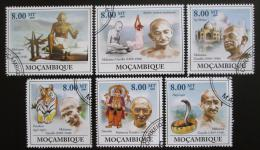 Poštovní známky Mosambik 2009 Mahatma Gandhí Mi# 3294-99