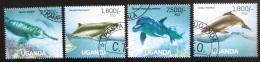 Poštovní známky Uganda 2013 Delfini Mi# 3030-33 Kat 22€