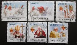 Poštovní známky Mosambik 2009 Papež Benedikt XVI Mi# 3343-48