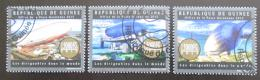 Poštovní známky Guinea 2012 Vzducholodì Mi# 9503-05 Kat 18€