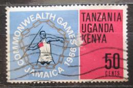 Poštovní známka K-U-T 1966 Hry Commonwealthu Mi# 153