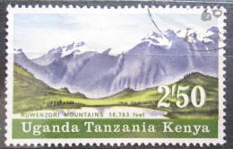 Poštovní známka K-U-T 1968 Pohoøí Ruwenzori Mi# 172