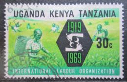 Poštovní známka K-U-T 1969 ILO, 50. výroèí Mi# 185