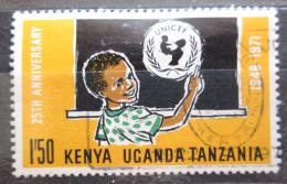 Poštovní známka K-U-T 1972 UNICEF, 25. výroèí Mi# 236