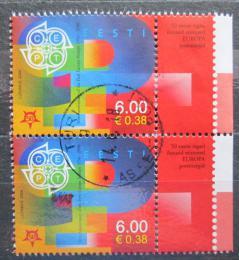 Poštovní známky Estonsko 2006 Evropa CEPT, 50. výroèí, pár Mi# 537