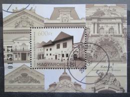 Poštovní známka Maïarsko 2013 Košice Mi# Block 354